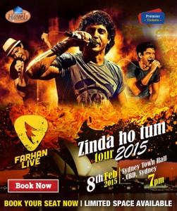 Farhan Live – Zinda Ho Tum Tour (SYDNEY)