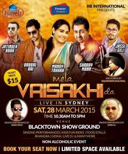 Mela Vaisakhi Da – LIVE In Sydney