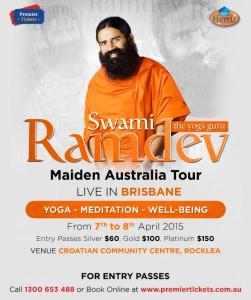 Baba Ramdev's Yoga Camp Australia 2015 – Brisbane