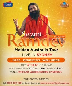 Baba Ramdev's Yoga Camp Australia 2015 – Sydney