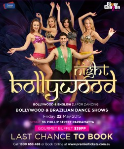 Bollywood Night Party – Bollywood & Brazilian Dance Show with English DJ