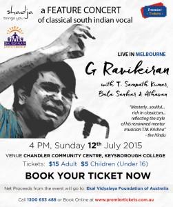 G Ravikiran's Feature Concert – Melbourne