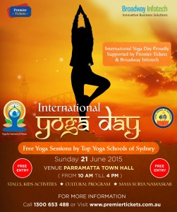 International World Yoga Day 2015 – June 21