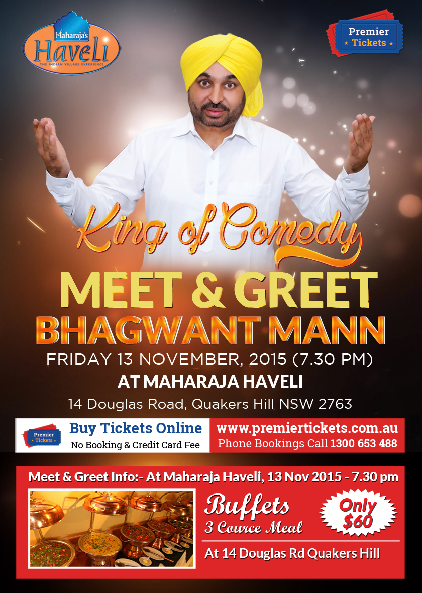 Bhagwant Mann Meet & Greet