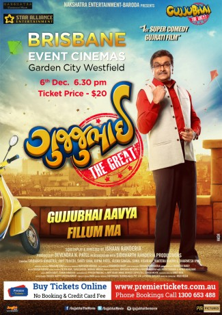 Gujjubhai the Great – Brisbane