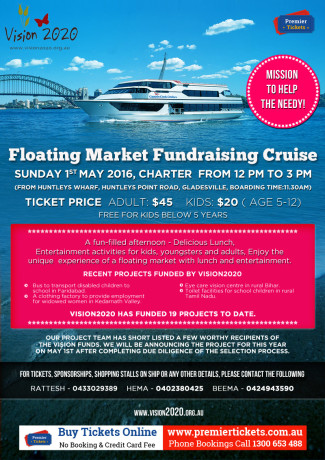 Vision 2020 – Floating Market Fundraising Cruise