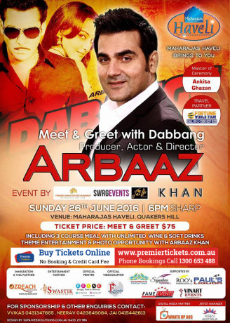 Meet & Greet with ARBAAZ KHAN