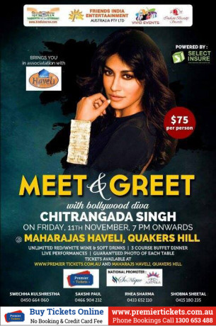 Meet & Greet with Chitrangada Singh