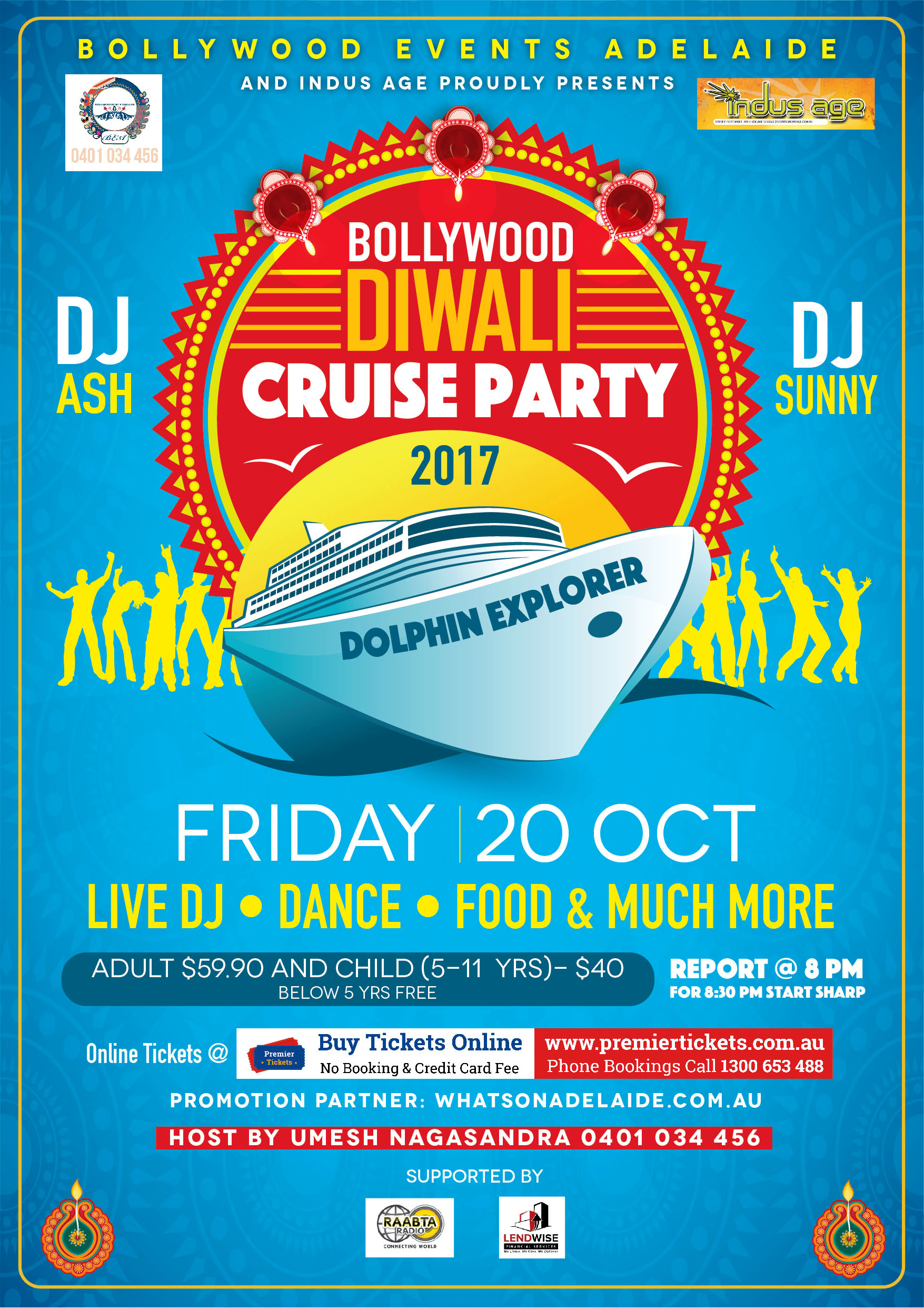 Bollywood Diwali Cruise Party 2017