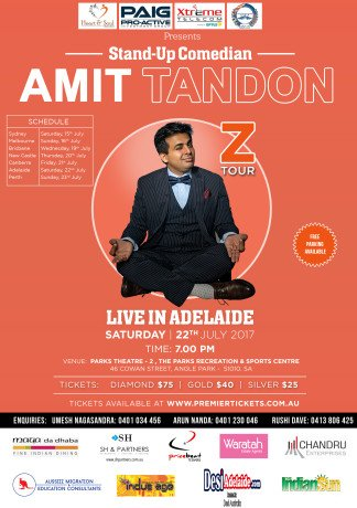 Amit Tandon The Married Guy Stand Up Comedian Live in Adelaide