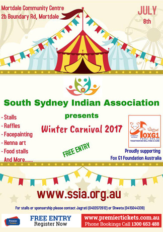 WINTER CARNIVAL 2017- FREE Registration