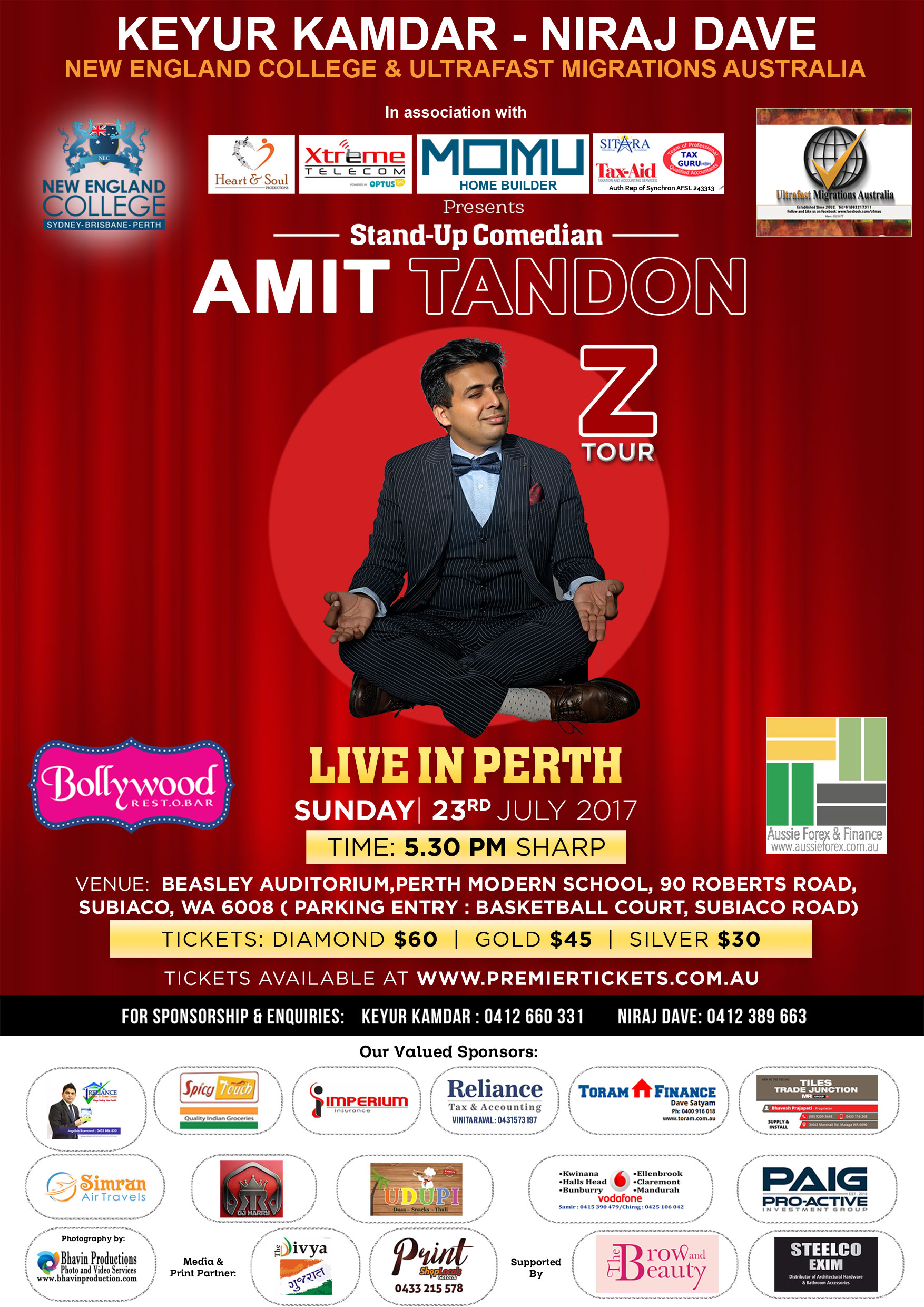 Amit Tandon The Married Guy Stand Up Comedian Live in Perth