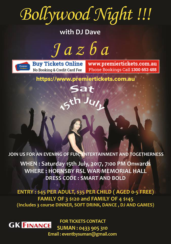 Bollywood Night – JAZBA