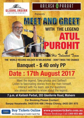 Meet & Greet with the Legend Atul Purohit & Team