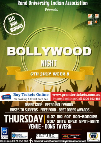 THE BOLLYWOOD NIGHT