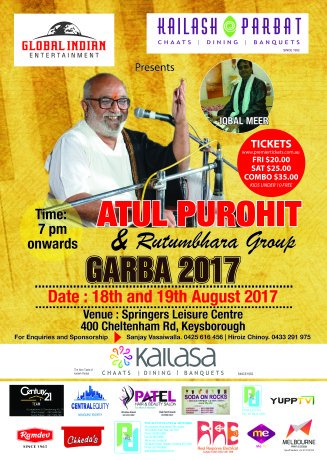 Garba & Dandiya with Atul Purohit in Melbourne