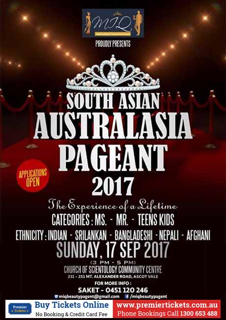 South Asia Australasian Beauty Pageant MIQ 2017