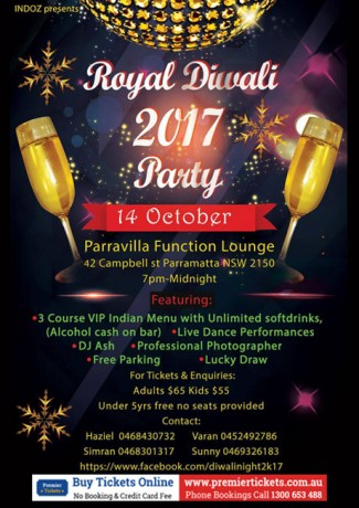 ROYAL DIWALI PARTY 2017