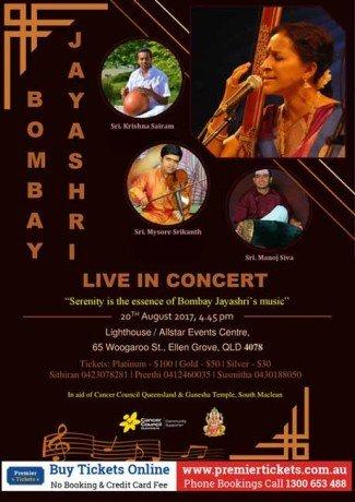 Bombay Jayashri – Live in Concert
