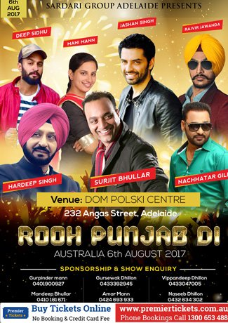 ROOH PUNJAB DI LIVE IN ADELAIDE