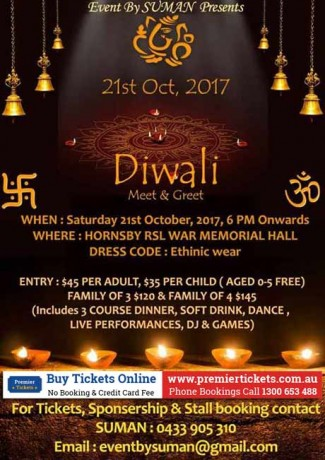 Diwali – Meet & Greet 2017