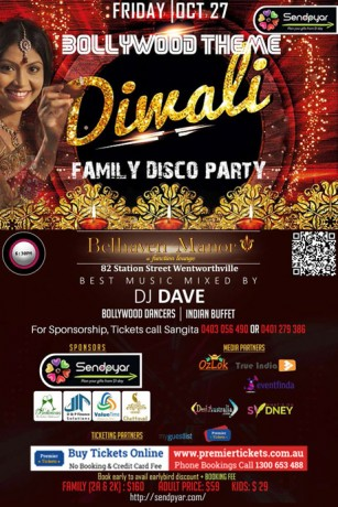 SendPyar 2017- Bollywood Theme Diwali Party