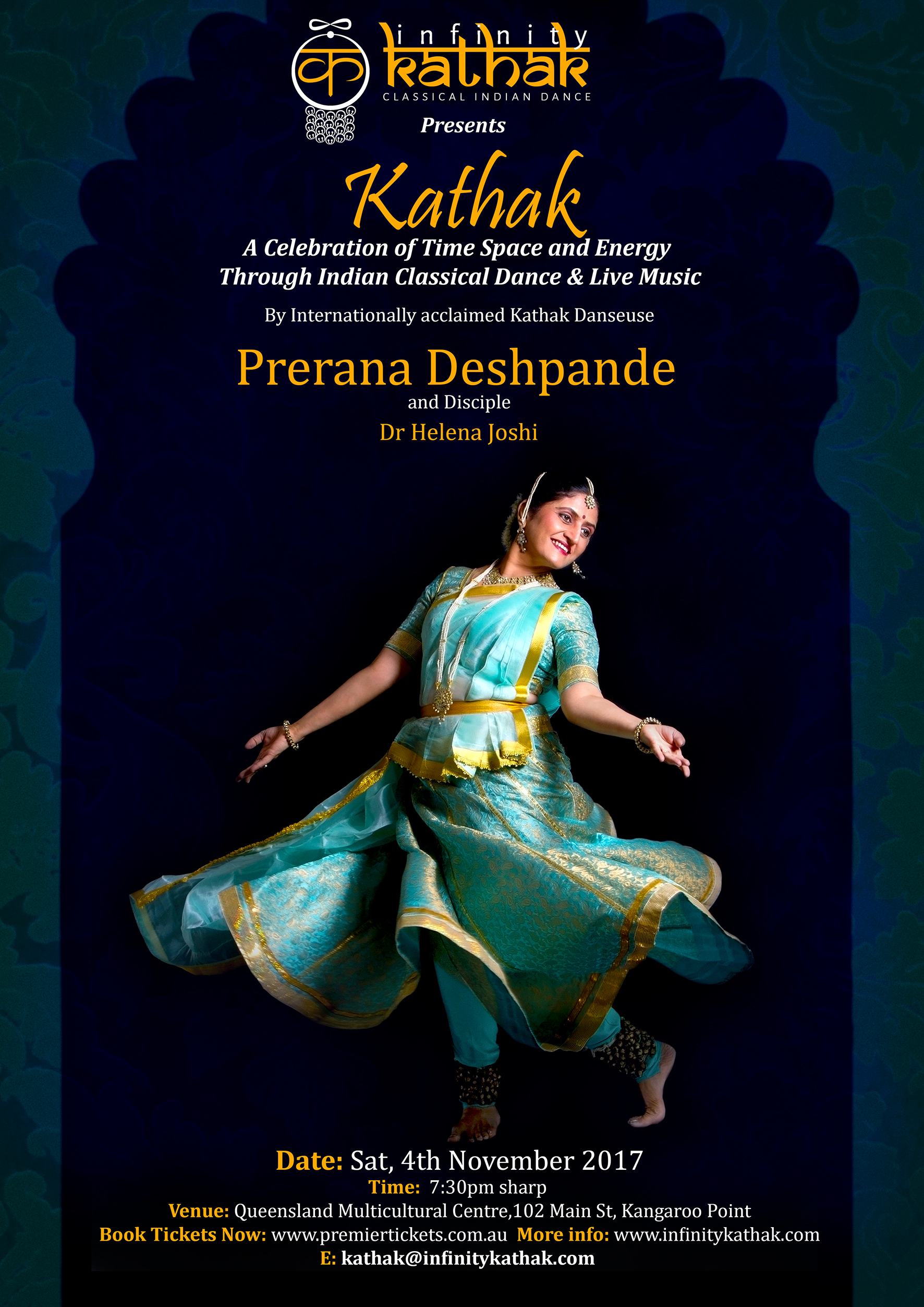 Kathak – An Exploration of Time, Space and Energy