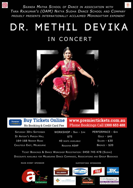 Dr. Methil Devika Dance Workshop