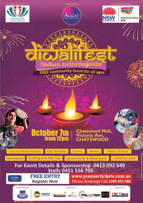 DiwaliFEST 2017 – FREE Registration