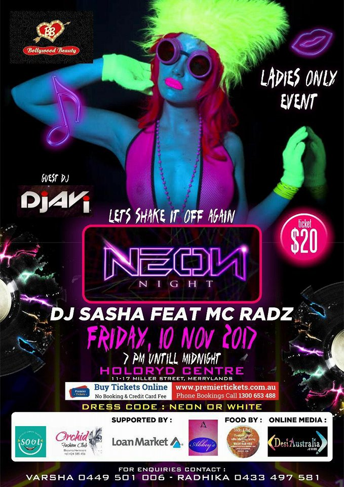 NEON NIGHT – Ladies only Club
