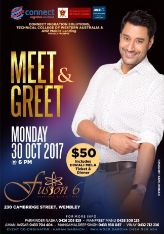 Meet & Greet with Harbhajan Mann in Perth