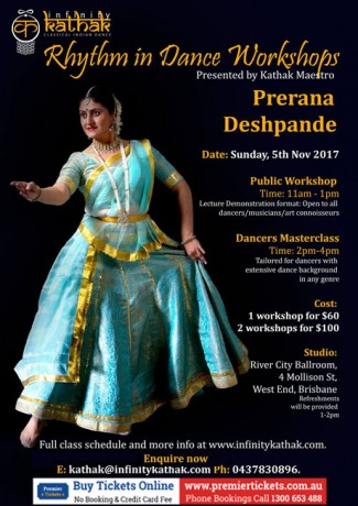 Rhythm and Aesthetics in Kathak Workshop