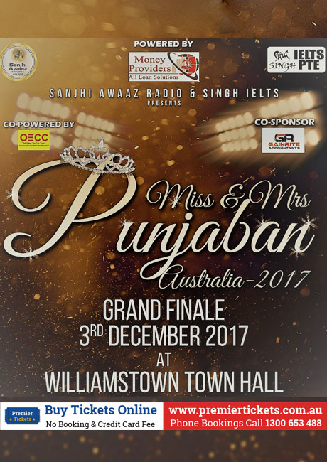 Miss and Mrs Punjaban Australia Grand Finale 2017