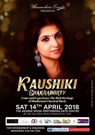 Kaushiki Chakraborty Live in Melbourne
