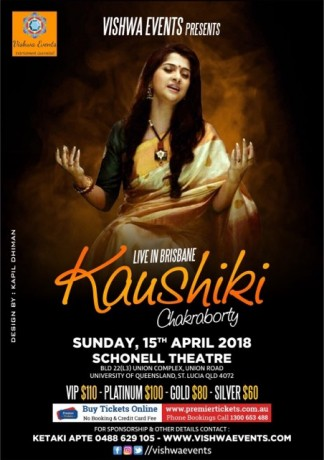 Kaushiki Chakraborty Live in Brisbane