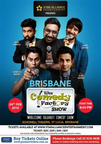 Gujarati Comedy Factory Show in Brisbane