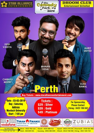 Gujarati Comedy Factory Show in Perth