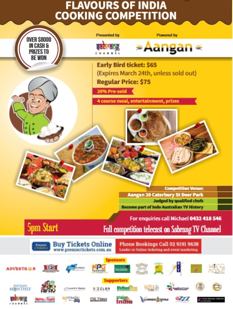 Flavours of India – Cooking Competition Finale
