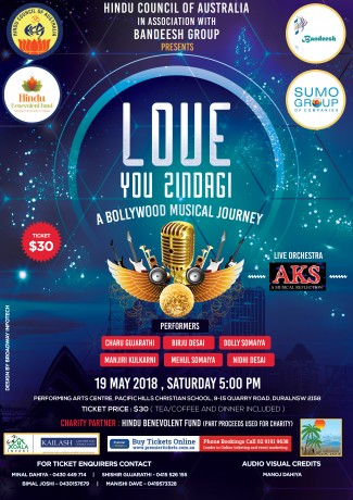 LOVE YOU ZINDAGI – A Bollywood Musical Journey