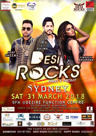 DESI ROCKS NIGHT