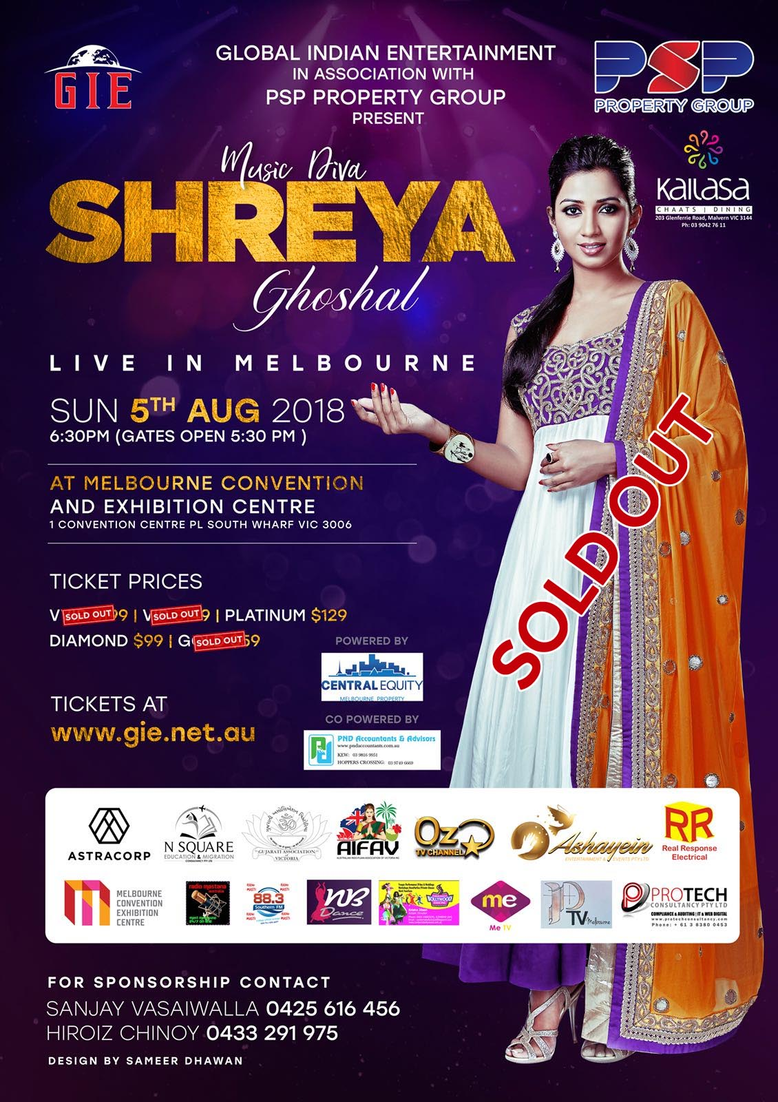Melody Queen Shreya Ghoshal Live in Melbourne