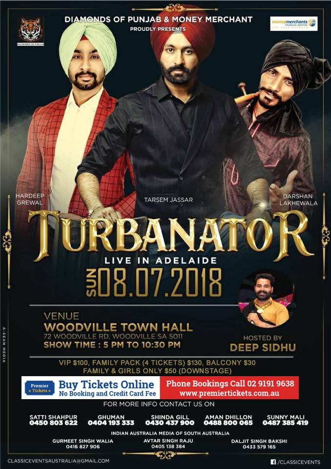 Turbanator Live in Adelaide