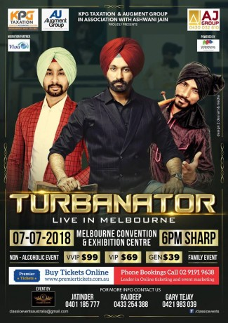 Turbanator Live in Melbourne