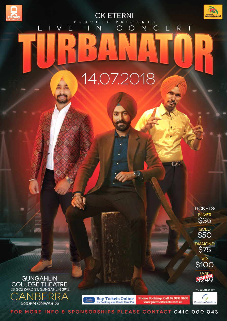 Turbanator Live in Canberra