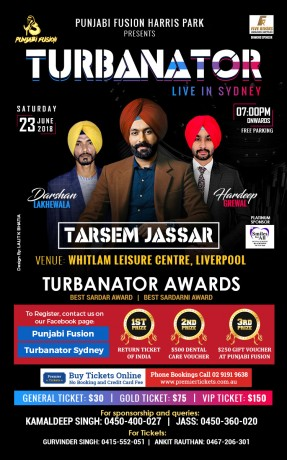 Turbanator Live in Sydney