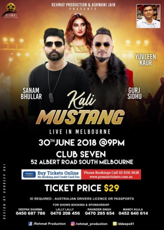 Kali Mustang Live in Melbourne