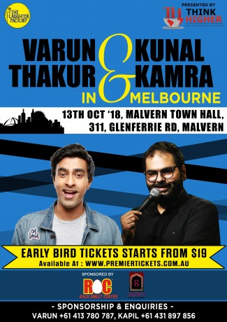 Stand Up Comedy by Varun Thakur & Kunal Kamra Live in Melbourne