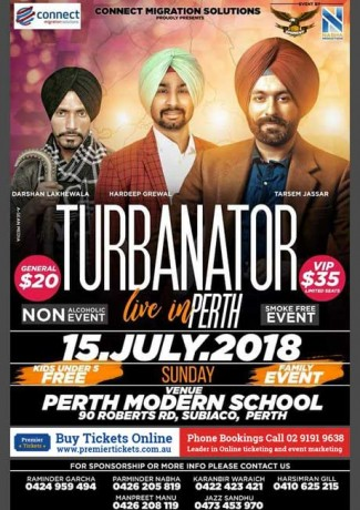 Turbanator Live in Perth