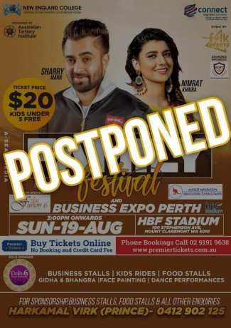 Sharry Mann & Nimrat Khaira Live in Perth