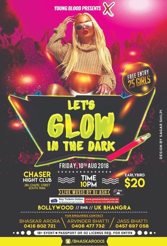 Let's Glow In The Dark